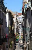 Rue typique de lisbonne — Photo