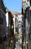 Lisbon typical street — Stock Photo