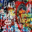 John Lennon wall in Prague — Stock Photo #13815089