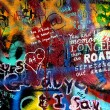 John Lennon wall in Prague — Stock Photo #13815118