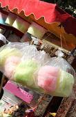 棉花糖和甜爆米花 — 图库照片