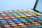 Cosmetic palette — Stock Photo