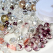 Royalty-Free Stock Photo: Beads and crystals