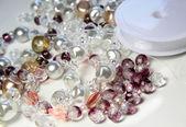 Perline e cristalli — Foto Stock