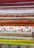 Mix of fabrics — Stockfoto