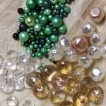 Mix of beads — Stock Photo