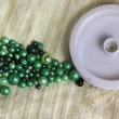 Mix of beads — Stock Photo