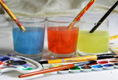 Watercolors — Stock Photo