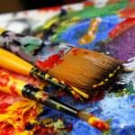 Art palette — Stock Photo #16876311