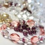 Big mix of beads — Stock Photo