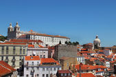 Lisbon panorama, Portugal — Stock Photo
