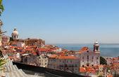 Beautiful view of Lisbon — Stock Photo
