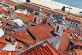 Лиссабон крыши — Стоковое фото