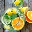 Summer fresh drink — Stock Photo #19467009