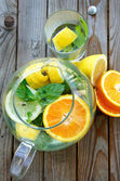 Summer fresh drink — Stock Photo