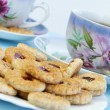 Tea time with cookies - Lizenzfreies Foto
