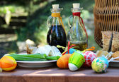 Easter barbeque — Stockfoto