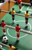 настольный футбол игрушка — Стоковое фото