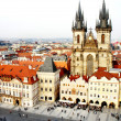 Old Town Square, Prague, Czech republic — Stock Photo #21813947