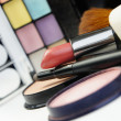 Lipstick and decorative cosmetic — Stock Photo