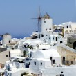 Santorini windmills — Stock Photo #23175894