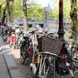 Amsterdam bicycle — Stock Photo