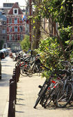 Bicicleta amsterdam — Foto de Stock