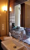 Luxury beautiful modern bathroom — Stock Photo