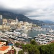 Beautiful view of Monte Carlo city, Monaco — Stock Photo