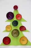 Weihnachten in kreativen stil — Stockfoto
