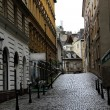 Old town street in Vienna — Foto de Stock