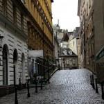 starego miasta ulica w Wiedniu — Zdjęcie stockowe