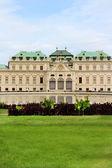 Castle Belveder in Vienna — Stock Photo