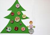 Kerstmis in creatieve stijl — Stockfoto