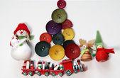 Natal no estilo criativo — Foto Stock