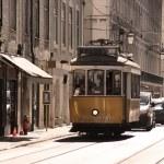 Lisbon tram — Stock Photo #34141827