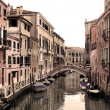 Beautiful view of Venetian streets — Stock Photo