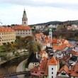 Beautiful view of Cesky Krumlov, Czech Republic — Stock Photo