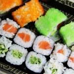 mezcla de sushi japonés y rollos — Foto de Stock   #36212653