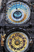 Astronomical clock in Prague, Czech republic — Photo