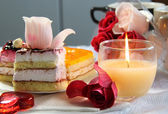 Wedding and Valentine's Day decoration — Stock Photo