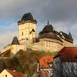 Stock Photo: Castle of Karlstejn, Czech republic