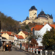 The castle of Karlstejn, Czech republic — Stock Photo