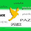 Languages Of Peace - Stock Photo