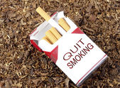 Quit Smoking Box — Stock Photo