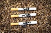 今天戒烟 — 图库照片