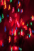 Abstract Background Christmas Lights — Stock Photo