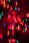 Abstrakt hintergrund Lichterkette — Stockfoto
