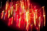 Abstraktní vánoční osvětlení — Stock fotografie