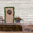 Stock Photo: Rocking Chair On Porch